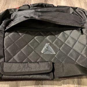 Nike Bags - Nike Metal Jordan Jumpman Logo Duffle/Gym Bag